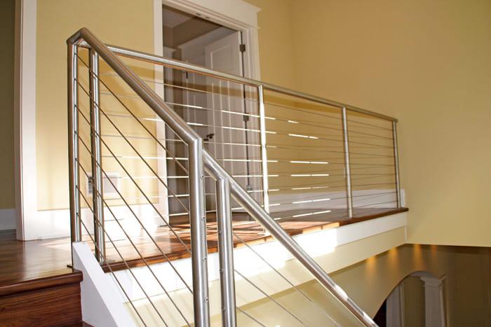 Aluminio y vidrio velzquez for Barandales de aluminio blanco
